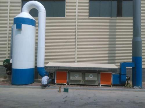 青岛橡塑件制品工业油烟净化器